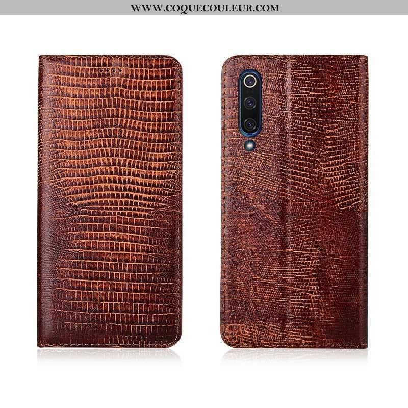 Étui Xiaomi Mi 9 Lite Silicone Modèle Housse, Coque Xiaomi Mi 9 Lite Protection Nouveau Marron