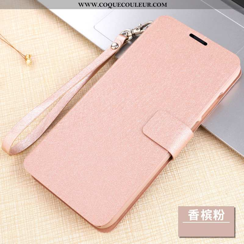 Housse Xiaomi Mi 9 Lite Cuir Tout Compris Incassable, Étui Xiaomi Mi 9 Lite Protection Clamshell Ros