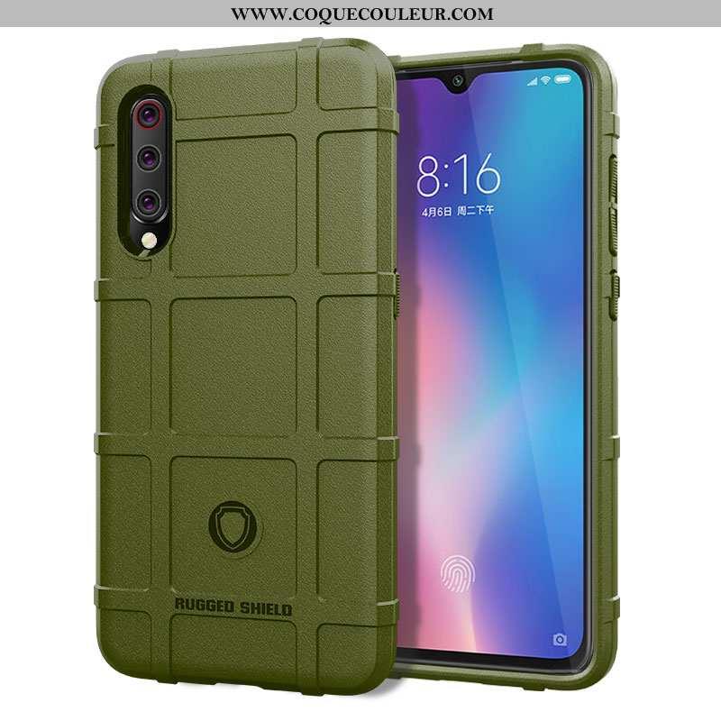 Housse Xiaomi Mi 9 Lite Silicone Tout Compris Incassable, Étui Xiaomi Mi 9 Lite Protection Créatif V