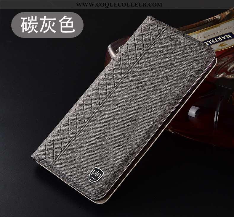 Housse Xiaomi Mi 9 Se Protection Tout Compris Téléphone Portable, Étui Xiaomi Mi 9 Se Cuir Gris