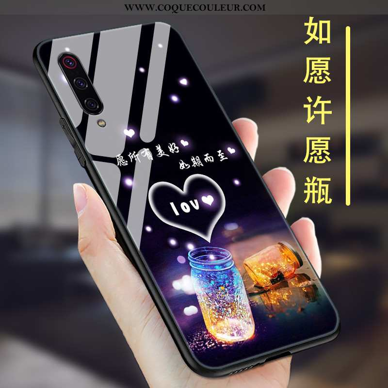 Étui Xiaomi Mi 9 Se Ultra Légère, Coque Xiaomi Mi 9 Se Tendance Personnalité Noir