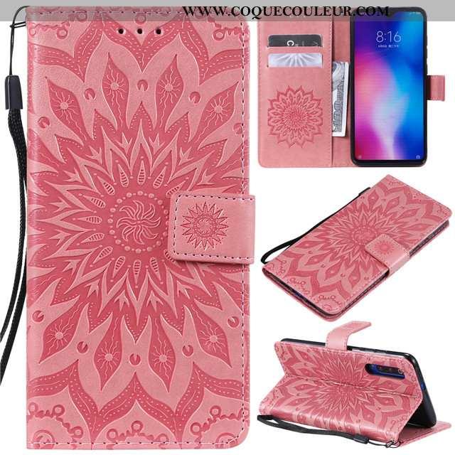 Coque Xiaomi Mi 9 Se Silicone Étui Incassable, Housse Xiaomi Mi 9 Se Protection Tout Compris Rose