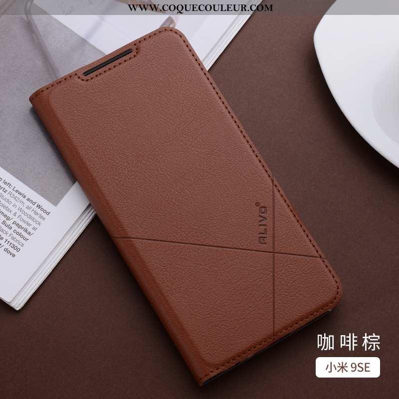 Étui Xiaomi Mi 9 Se Silicone Modèle Coque, Coque Xiaomi Mi 9 Se Protection Fluide Doux Marron