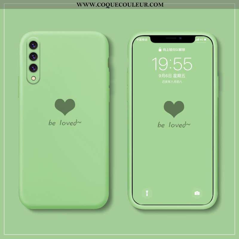 Étui Xiaomi Mi 9 Se Légère Amour Téléphone Portable, Coque Xiaomi Mi 9 Se Fluide Doux Verte
