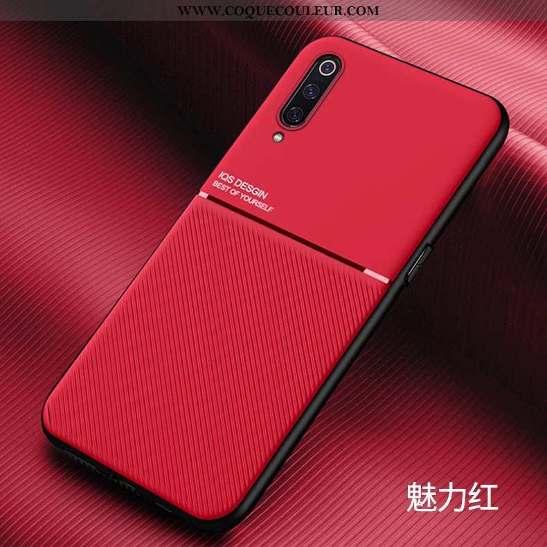 Étui Xiaomi Mi 9 Créatif Rouge Incassable, Coque Xiaomi Mi 9 Ultra Protection