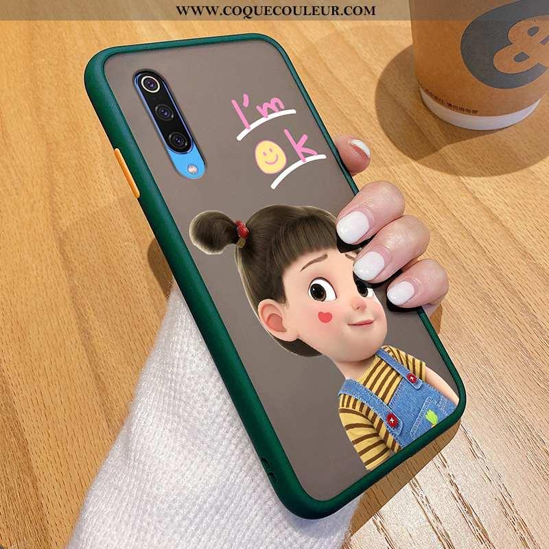 Coque Xiaomi Mi 9 Ultra Personnalité Petit, Housse Xiaomi Mi 9 Tendance Incassable Verte