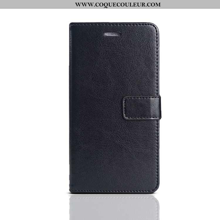 Étui Xiaomi Mi 9 Légère Fluide Doux Membrane, Coque Xiaomi Mi 9 Cuir Protection Noir