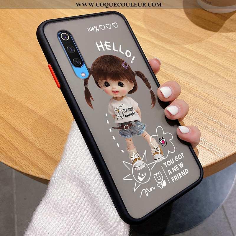 Étui Xiaomi Mi 9 Tendance Téléphone Portable Personnalité, Coque Xiaomi Mi 9 Légère Noir