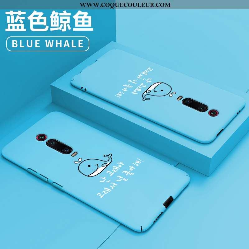 Housse Xiaomi Mi 9t Pro Tendance Difficile Bleu, Étui Xiaomi Mi 9t Pro Légère Créatif Bleu