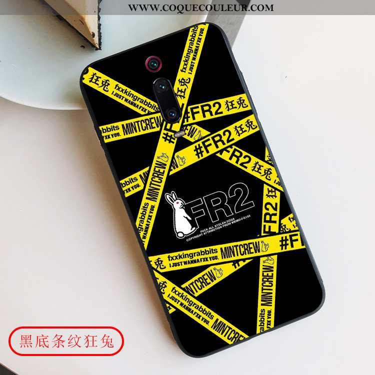 Coque Xiaomi Mi 9t Pro Protection Fluide Doux Téléphone Portable, Housse Xiaomi Mi 9t Pro Délavé En