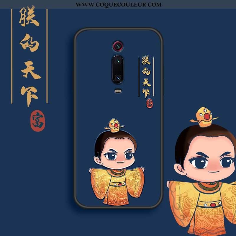 Coque Xiaomi Mi 9t Pro Tendance Tout Compris Bleu, Housse Xiaomi Mi 9t Pro Fluide Doux Étui Bleu