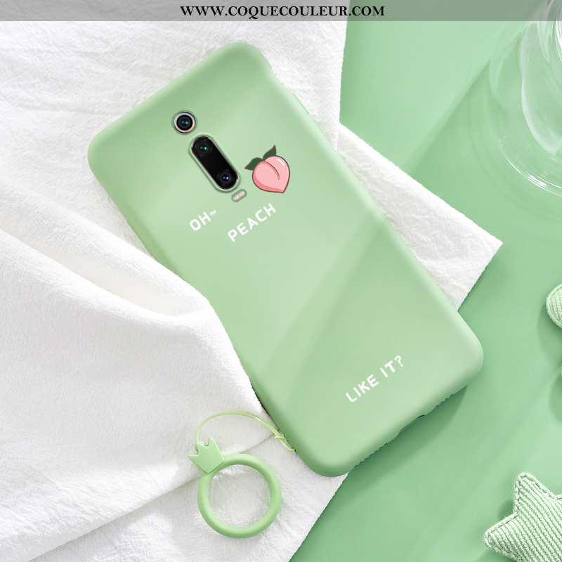 Coque Xiaomi Mi 9t Pro Ultra Rouge Charmant, Housse Xiaomi Mi 9t Pro Légère Vert Verte