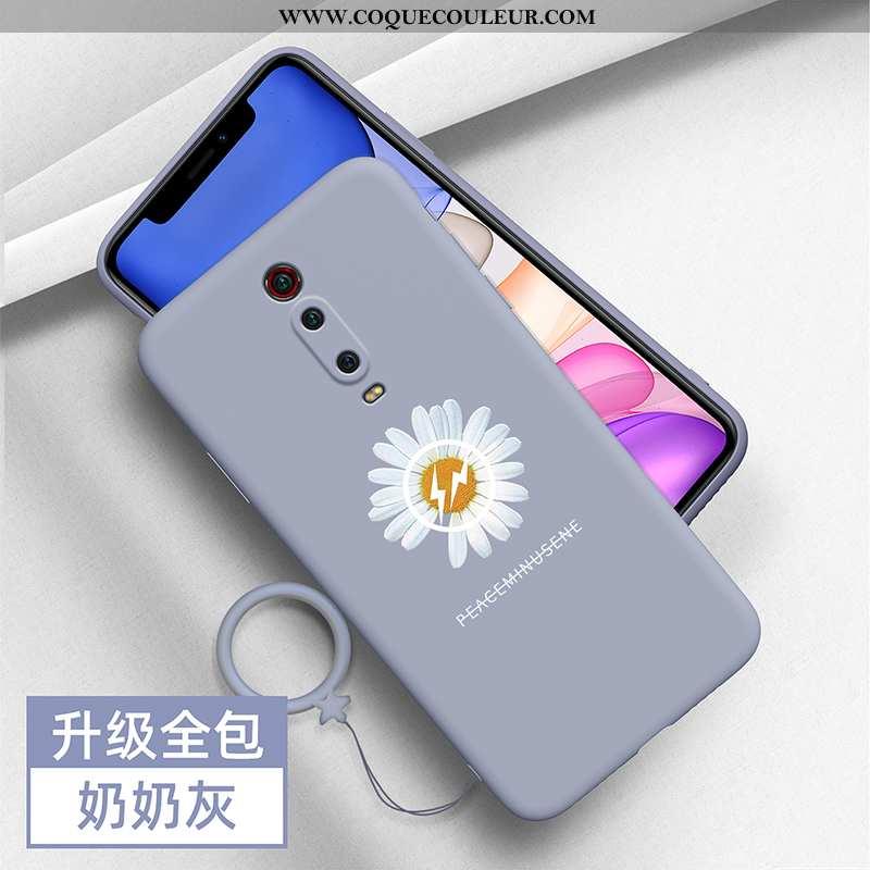Étui Xiaomi Mi 9t Pro Silicone Petite Marguerite Tout Compris, Coque Xiaomi Mi 9t Pro Protection Cré