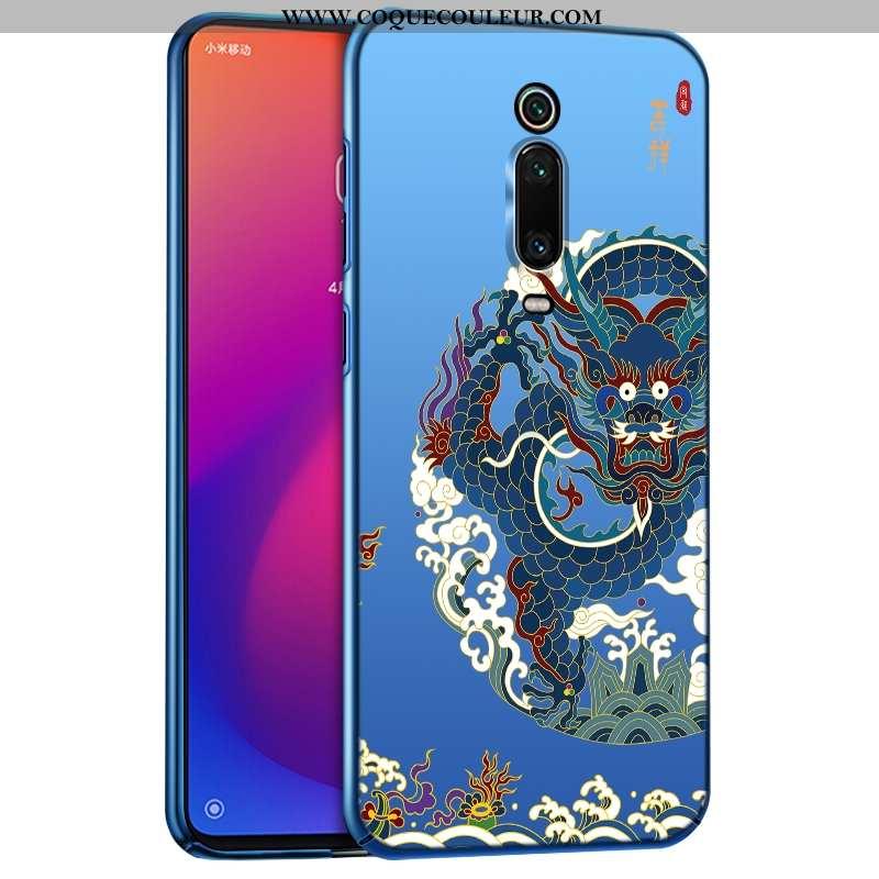 Coque Xiaomi Mi 9t Pro Protection Ultra Téléphone Portable, Housse Xiaomi Mi 9t Pro Délavé En Daim L