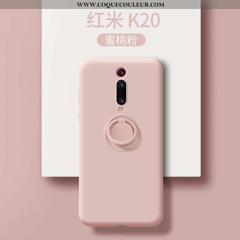 Coque Xiaomi Mi 9t Pro Silicone Rose Tendance, Housse Xiaomi Mi 9t Pro Délavé En Daim Personnalité