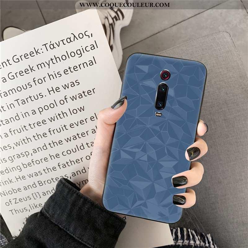 Étui Xiaomi Mi 9t Pro Modèle Fleurie Coque, Coque Xiaomi Mi 9t Pro Protection Bleu
