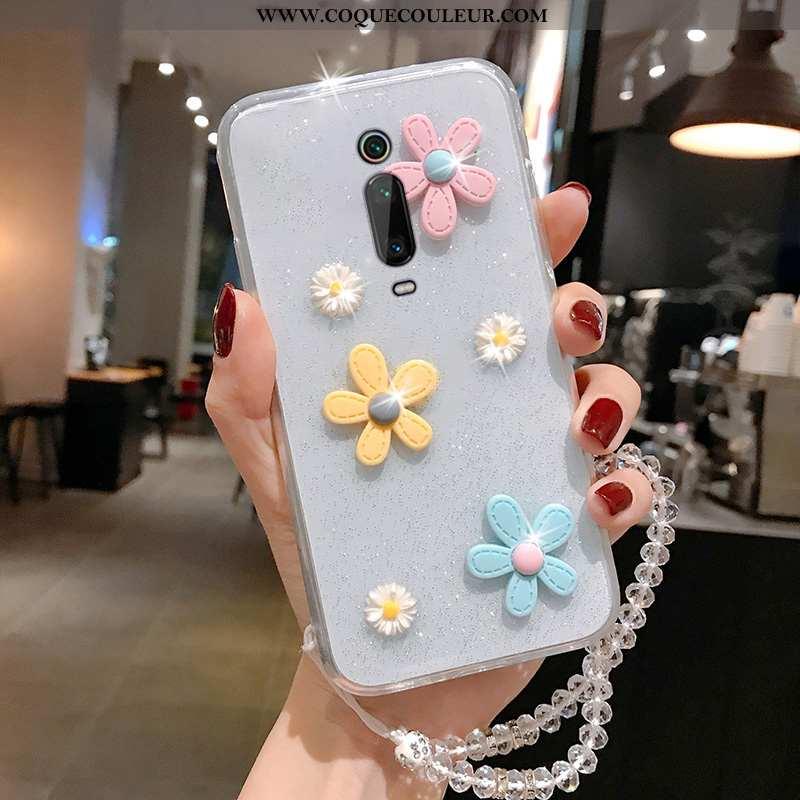 Étui Xiaomi Mi 9t Pro Charmant Coque Petit, Xiaomi Mi 9t Pro Transparent Téléphone Portable Blanche