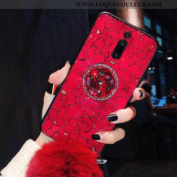 Coque Xiaomi Mi 9t Pro Tendance Mémorial Rouge, Housse Xiaomi Mi 9t Pro Protection Petit Rouge