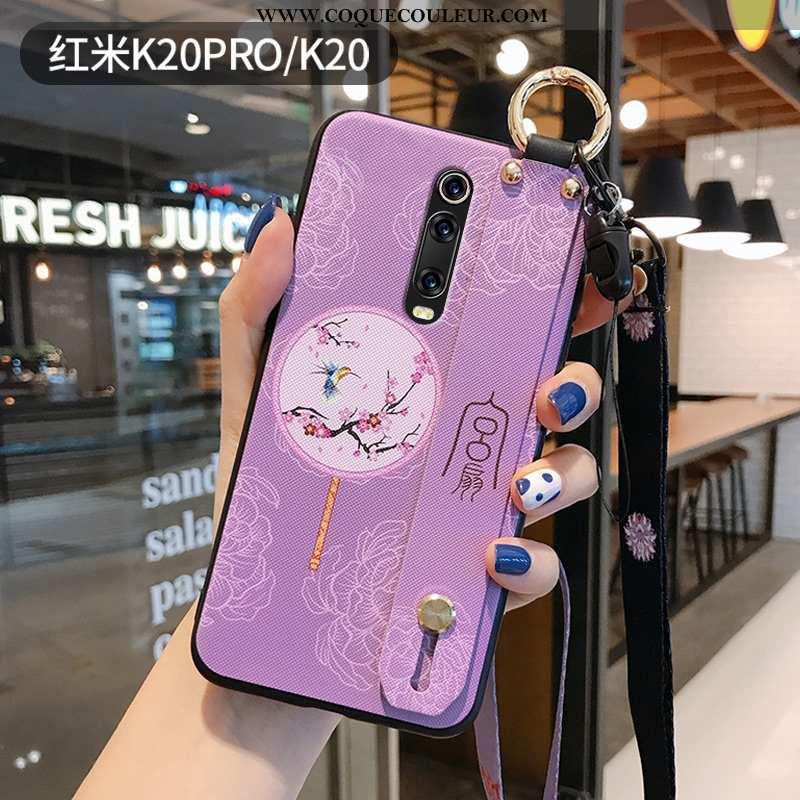 Coque Xiaomi Mi 9t Pro Ornements Suspendus Vintage Petit, Housse Xiaomi Mi 9t Pro Personnalité Viole