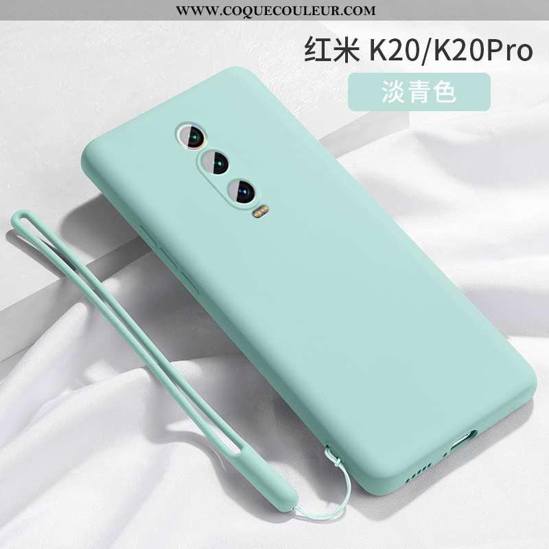 Coque Xiaomi Mi 9t Créatif Silicone, Housse Xiaomi Mi 9t Tendance Ornements Suspendus Turquoise