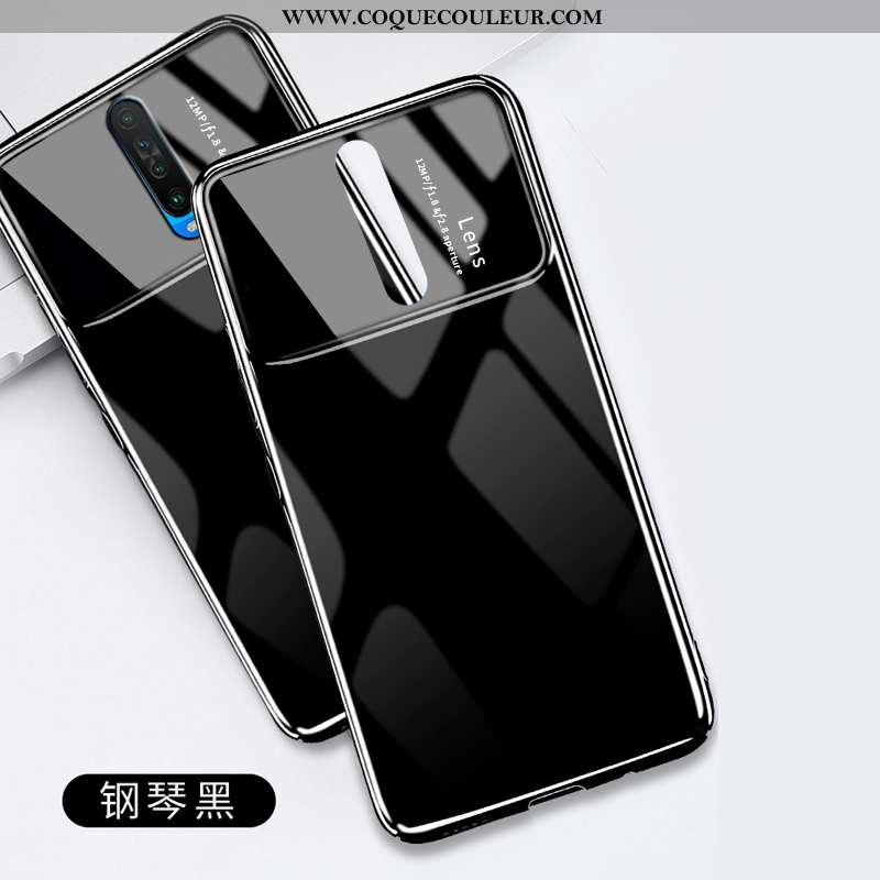 Coque Xiaomi Mi 9t Personnalité Ultra Légère, Housse Xiaomi Mi 9t Créatif Noir