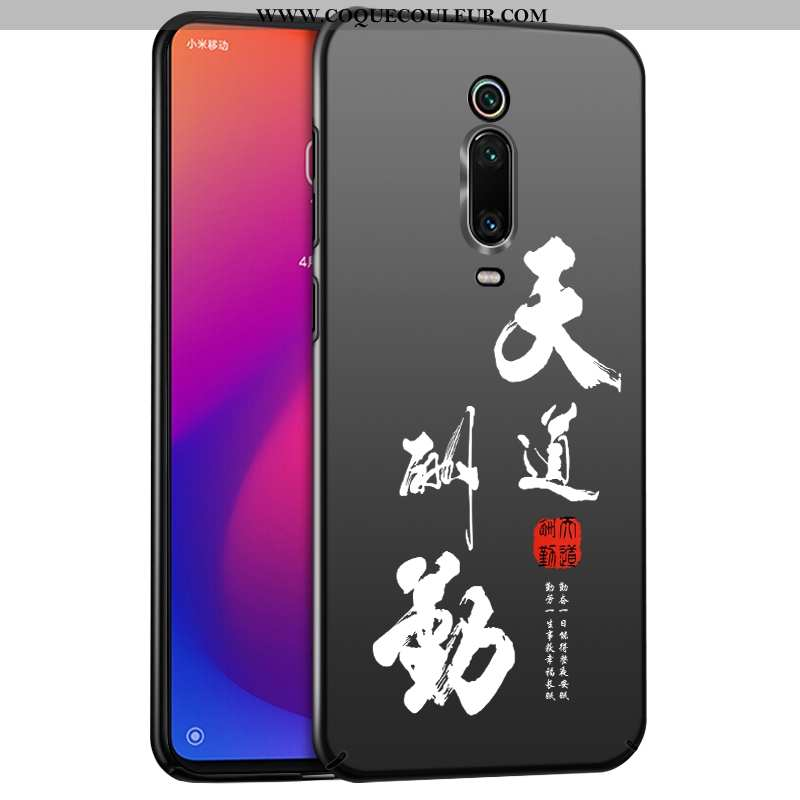 Housse Xiaomi Mi 9t Ultra Téléphone Portable Noir, Étui Xiaomi Mi 9t Légère Difficile Noir