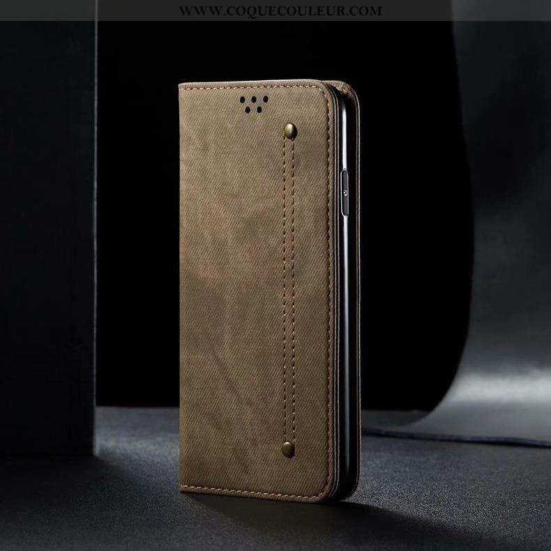 Coque Xiaomi Mi 9t Cuir Véritable Téléphone Portable Housse, Housse Xiaomi Mi 9t Cuir Protection Mar