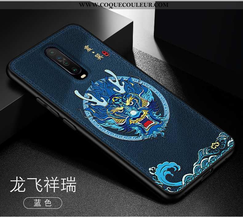 Housse Xiaomi Mi 9t Modèle Fleurie Personnalité Légère, Étui Xiaomi Mi 9t Fluide Doux Créatif Bleu