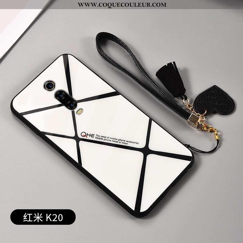 Coque Xiaomi Mi 9t Protection Téléphone Portable Amoureux, Housse Xiaomi Mi 9t Verre Ornements Suspe