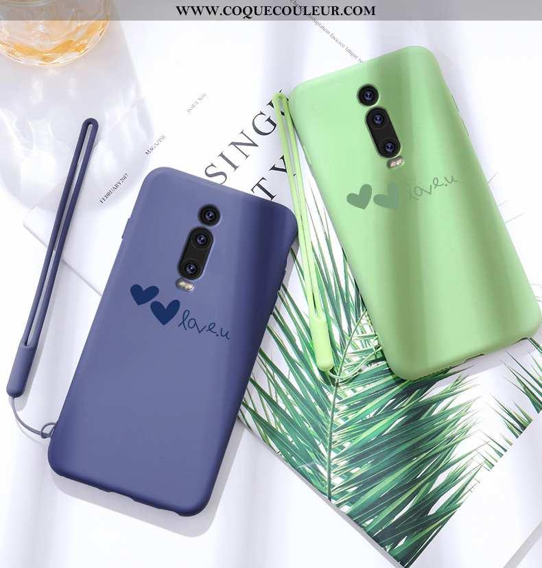 Étui Xiaomi Mi 9t Légère Tendance Tout Compris, Coque Xiaomi Mi 9t Fluide Doux Amour Verte