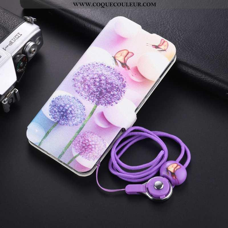 Housse Xiaomi Mi A1 Tendance Téléphone Portable Support, Étui Xiaomi Mi A1 Cuir Protection Violet