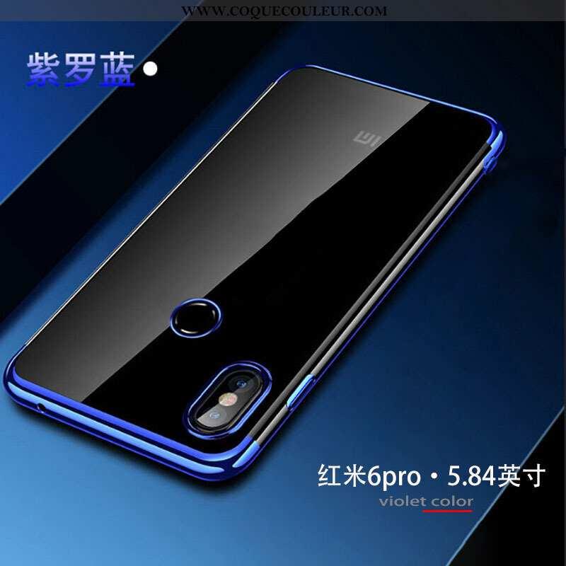 Étui Xiaomi Mi A2 Lite Protection Petit Téléphone Portable, Coque Xiaomi Mi A2 Lite Transparent Plac