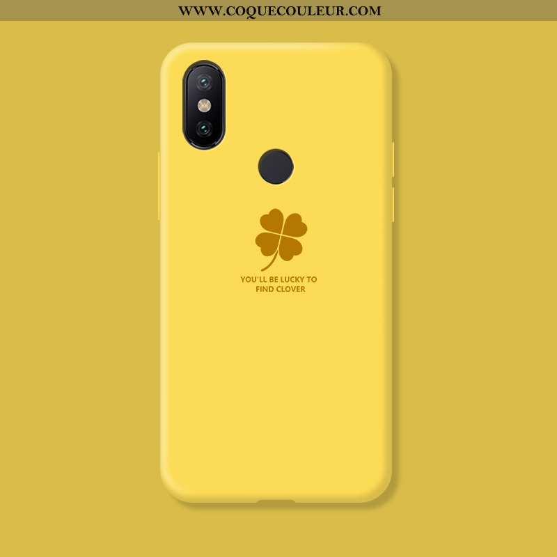 Housse Xiaomi Mi A2 Lite Silicone Petit Incassable, Étui Xiaomi Mi A2 Lite Protection Téléphone Port