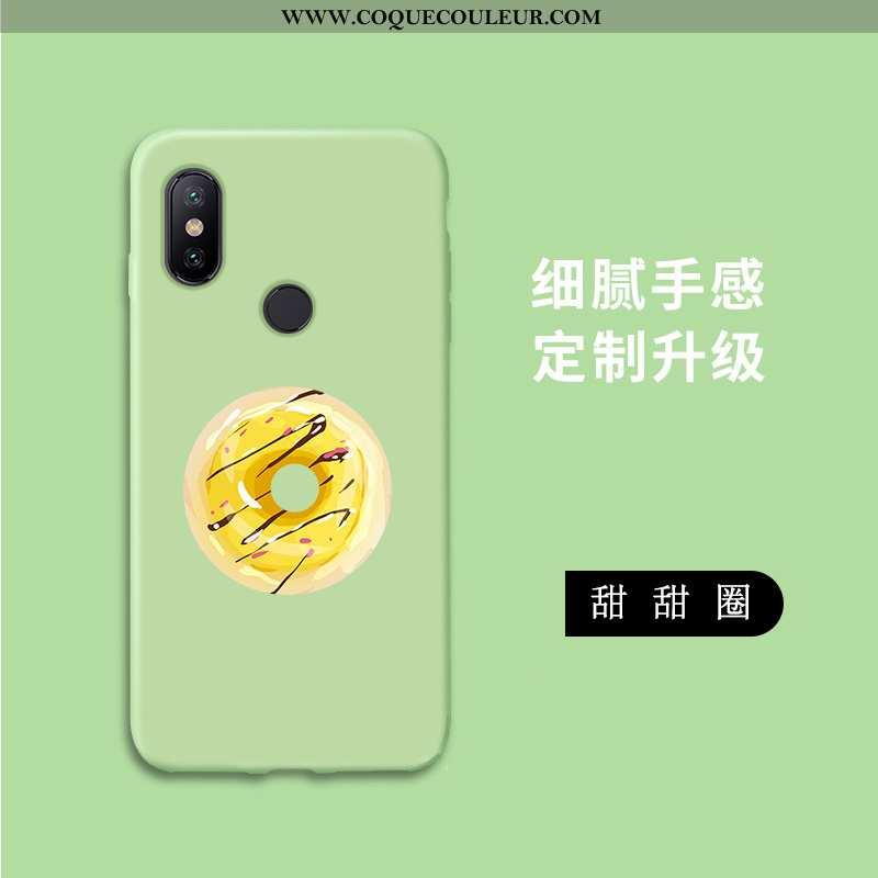Coque Xiaomi Mi A2 Lite Personnalité Vert, Housse Xiaomi Mi A2 Lite Dessin Animé Téléphone Portable