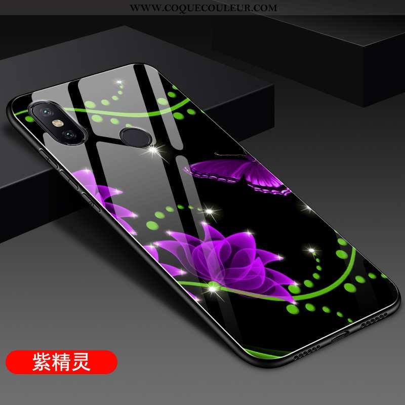 Étui Xiaomi Mi A2 Légère Difficile Légères, Coque Xiaomi Mi A2 Fluide Doux Tendance Violet