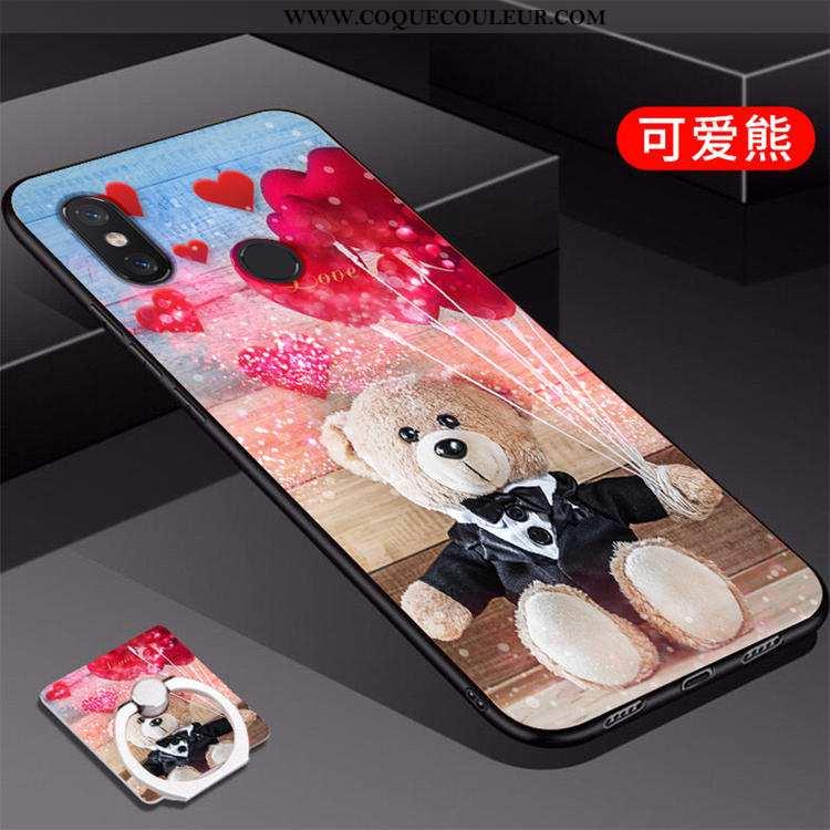 Housse Xiaomi Mi A2 Créatif Incassable Personnalité, Étui Xiaomi Mi A2 Fluide Doux Nouveau Rouge