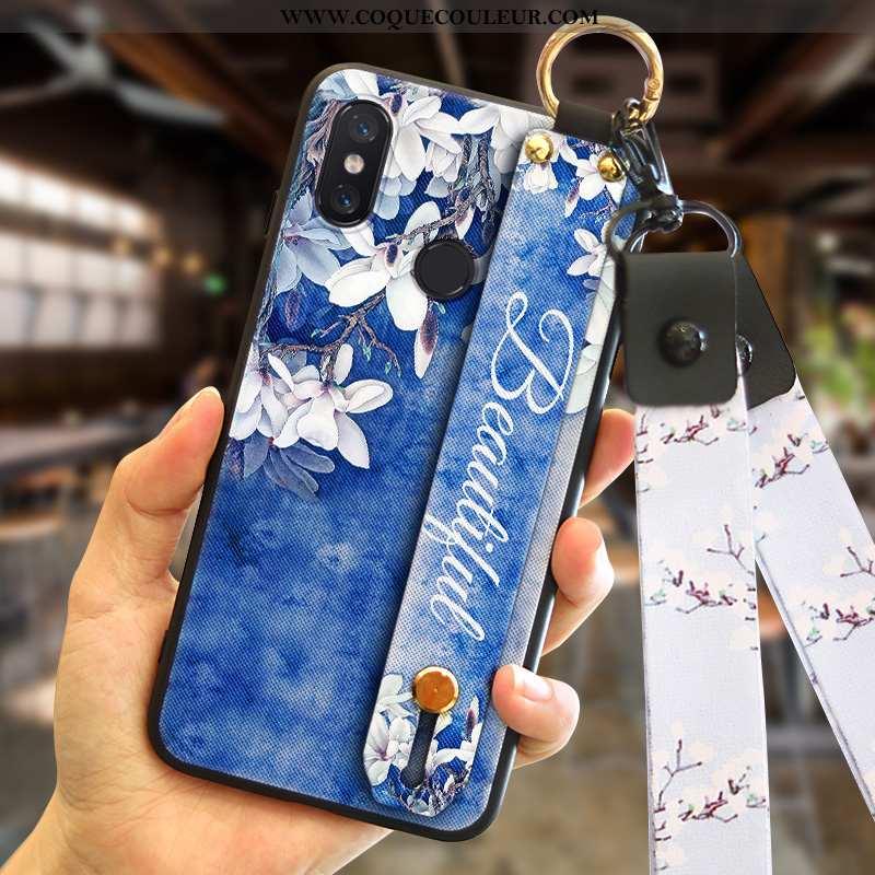 Housse Xiaomi Mi A2 Personnalité Téléphone Portable Bleu, Étui Xiaomi Mi A2 Tendance Petit Bleu