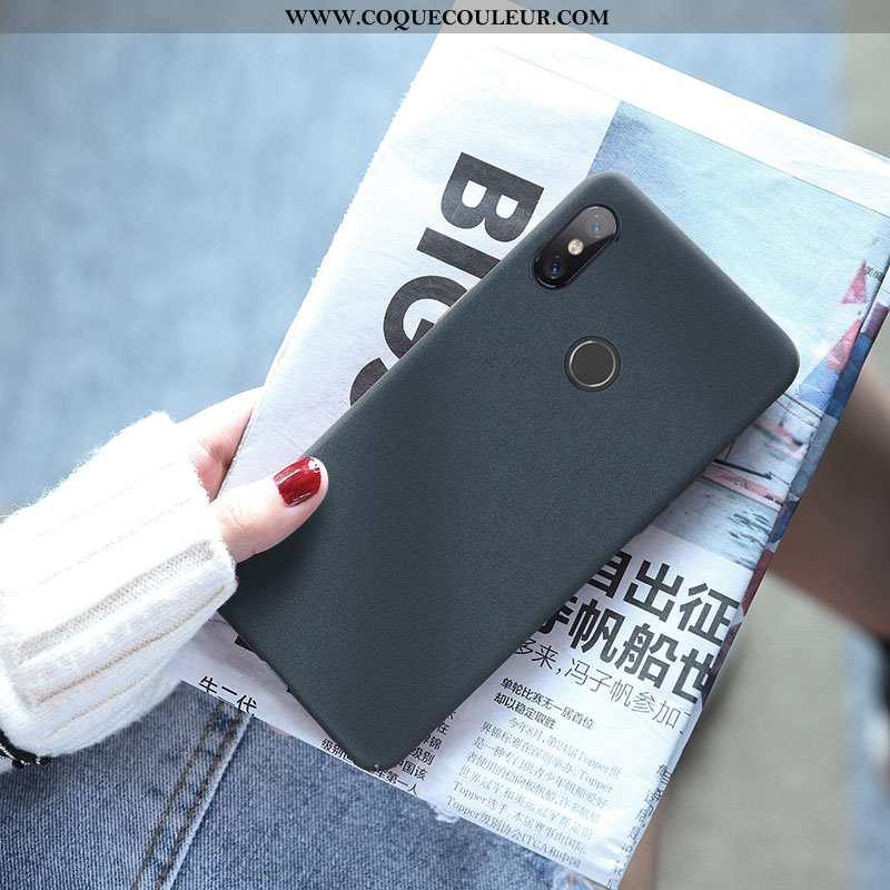 Housse Xiaomi Mi Max 3 Créatif Coque Net Rouge, Étui Xiaomi Mi Max 3 Tendance Bleu