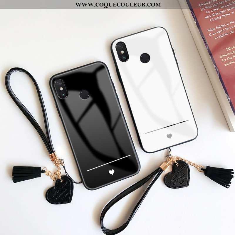Housse Xiaomi Mi Max 3 Verre Tempérer Étui, Étui Xiaomi Mi Max 3 Ornements Suspendus Tout Compris No