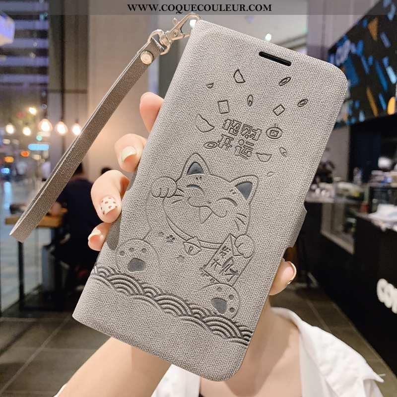 Coque Xiaomi Mi Max 3 Silicone Clamshell Tout Compris, Housse Xiaomi Mi Max 3 Protection Créatif Gri
