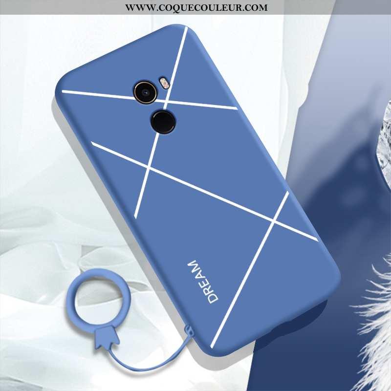 Housse Xiaomi Mi Mix 2 Fluide Doux Téléphone Portable Incassable, Étui Xiaomi Mi Mix 2 Silicone Tend