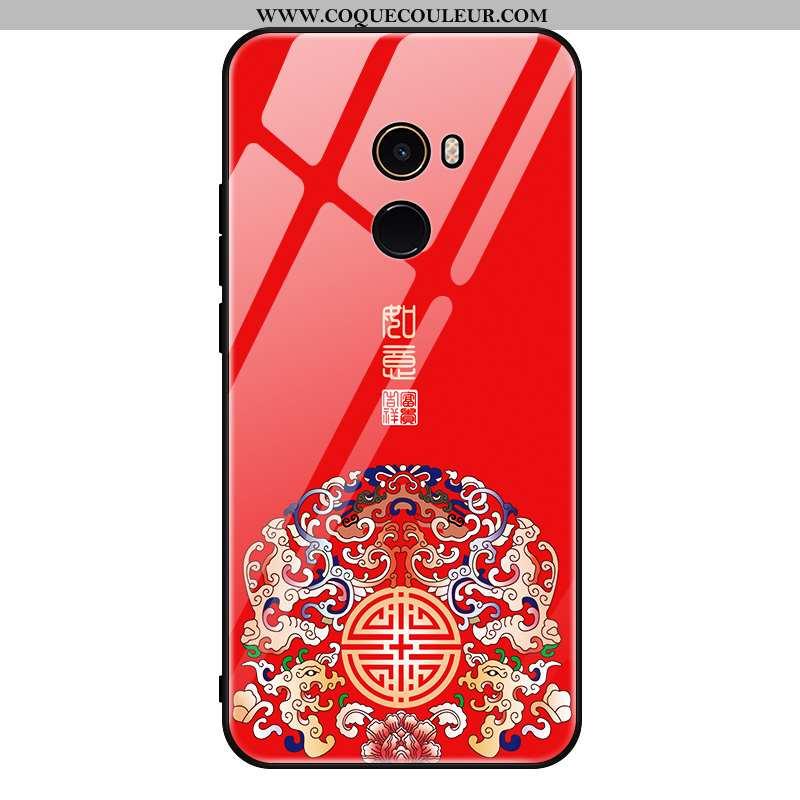 Coque Xiaomi Mi Mix 2 Charmant Téléphone Portable Personnalité, Housse Xiaomi Mi Mix 2 Tendance Verr