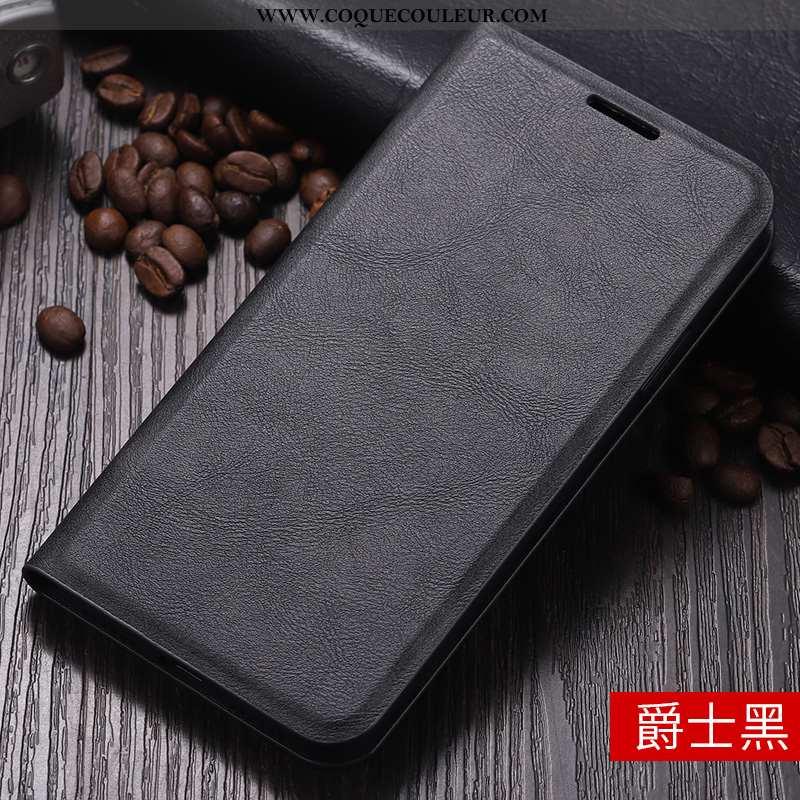 Coque Xiaomi Mi Mix 2 Tendance Fluide Doux Étui, Housse Xiaomi Mi Mix 2 Cuir Grand Noir