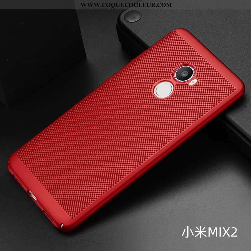 Coque Xiaomi Mi Mix 2 Délavé En Daim Incassable Téléphone Portable, Housse Xiaomi Mi Mix 2 Légère Re