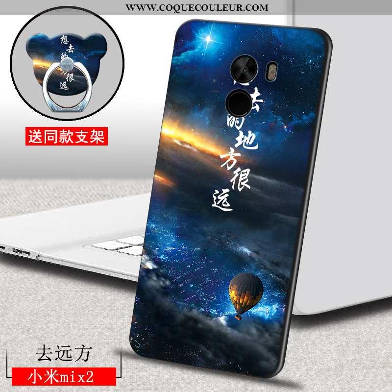 Coque Xiaomi Mi Mix 2 Légère Téléphone Portable Silicone, Housse Xiaomi Mi Mix 2 Fluide Doux Tout Co