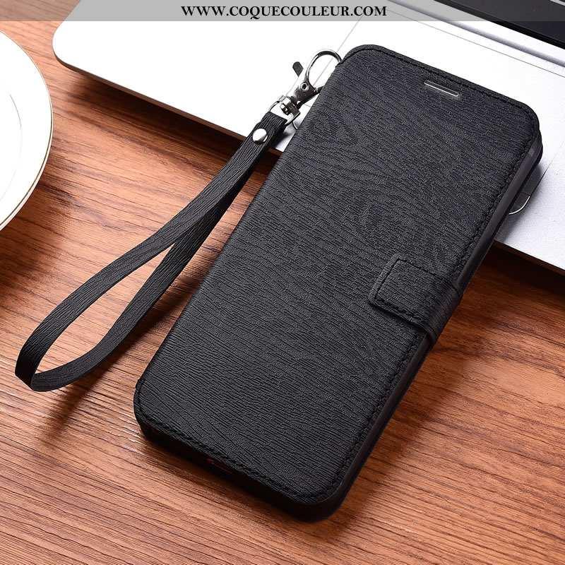 Coque Xiaomi Mi Mix 2 Fluide Doux Cuir Petit, Housse Xiaomi Mi Mix 2 Protection Noir