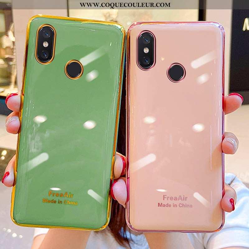 Housse Xiaomi Mi Mix 2s Personnalité Tout Compris Vert, Étui Xiaomi Mi Mix 2s Ultra Incassable Verte