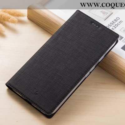 Étui Xiaomi Mi Mix 2s Protection Coque Incassable, Xiaomi Mi Mix 2s Cuir Téléphone Portable Noir
