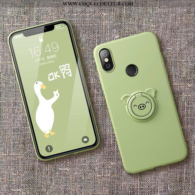 Housse Xiaomi Mi Mix 2s Tendance Étui Incassable, Xiaomi Mi Mix 2s Légère Nouveau Verte