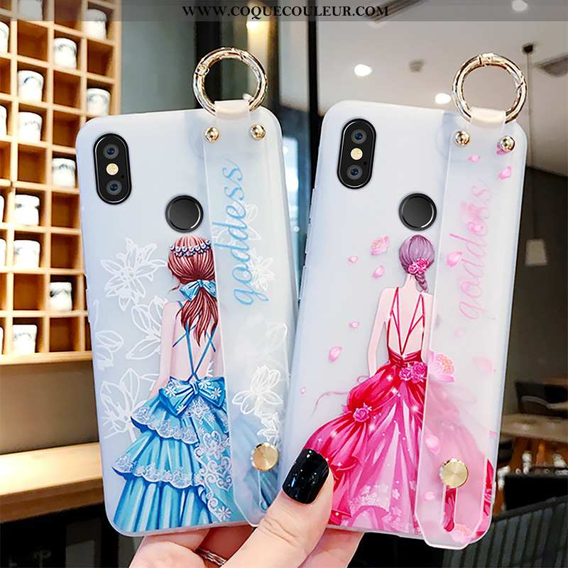 Étui Xiaomi Mi Mix 3 Créatif Nouveau Rose, Coque Xiaomi Mi Mix 3 Protection Rose